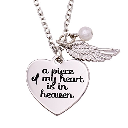 Melix HOME A Piece of My Heart is in Heaven (Necklace)