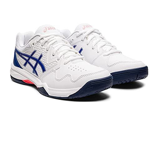 ASICS Gel-Dedicate 7, Chaussures de Tennis Femme, Multicolore (White Lapis Lazuli Blue), 40.5 EU