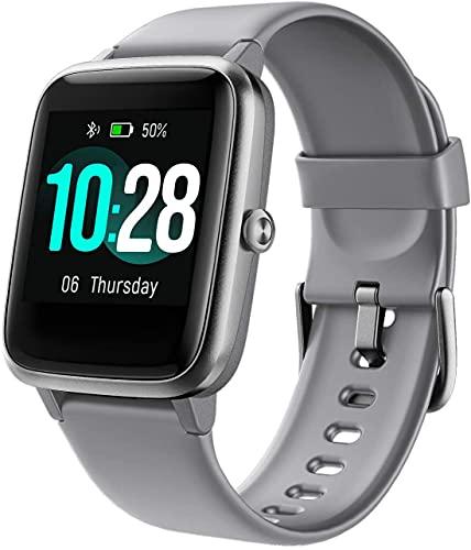 Montre Connectée Homme Femme,Smartwatch Compatible Samsung Huawei Xiaomi Android iOS Podometre Montre Sport Cardiofrequencemetre Etanche IP68 GPS Partagé 11 Modes Sport Notification de Message