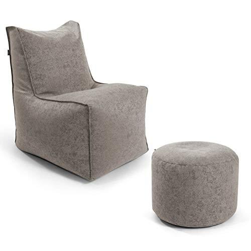 mokebo® Indoor Sitzsack-Sessel 'Der Ruhepol', Bean Bag, Sessel oder Leichter Relaxsessel, Made in Schwarzwald