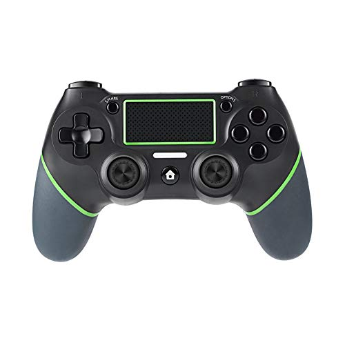 LJJLJJ Wireless Gamepad,Joystick InaláMbricocontroller Wireless Incorporado Bateria con VibracióN Dual Y para Windows/Ps3/Android/Tablet/Pc/TV O TV Box,Verde