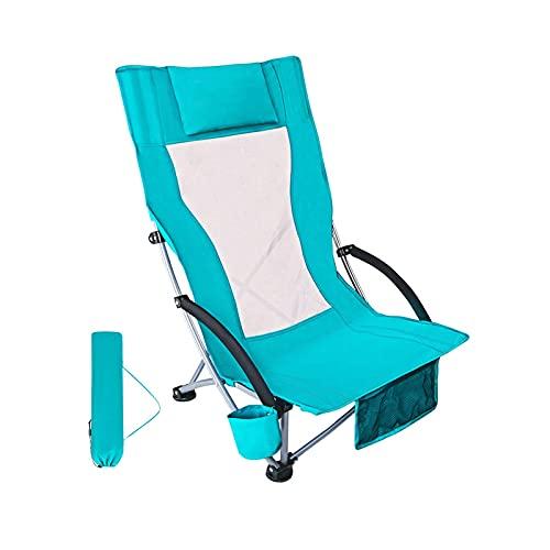 Silla Camping Sillas de camping plegables portátiles, silla de mochilero ultraligero con soporte de taza y portátil compacto para campamento al aire libre, viaje, picnic, festival, senderismo Silla ca