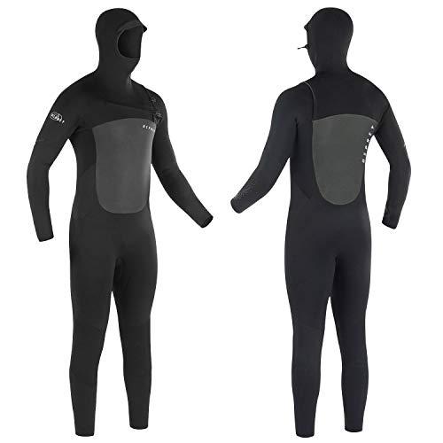 Osprey Thermo-wetsuit voor heren, met capuchon, 5 mm, volledige lengte, voor winter, koud water, surfen, duiken en watersport