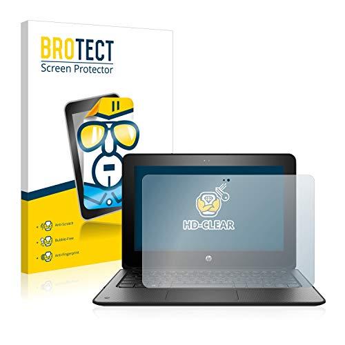 BROTECT Schutzfolie kompatibel mit HP ProBook x360 11 G1 EE klare Bildschirmschutz-Folie