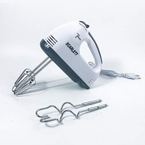 Family Care Robot de Cocina Batidora Amasadora Repostería de Potencia. Acero Inoxidable. 3 Accesorios.