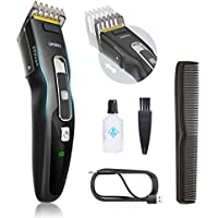 Limural Battery-powered USB-Rechargeable Men's Hair Clipper Kit