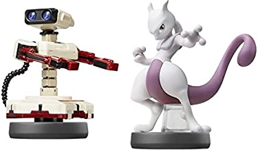 Amiibo 【Mewtwo【Robot】 (2Piece Set)〔Super Smash Bros. Brawl Series〕for Nintendo Wii U, Nintendo 3DS JAPANEASE Game