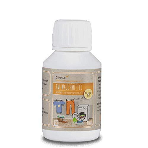 EM-wasmiddel geurneutraal - ecologisch wasmiddel met effectieve micro-organismen - vrij van chemische bestanddelen & geurstoffen - 100% biologisch afbreekbaar & veganistisch