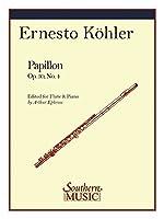KOHLER E. - Papillon Op.30 nコ 4 para Flauta y Piano (Ephross)