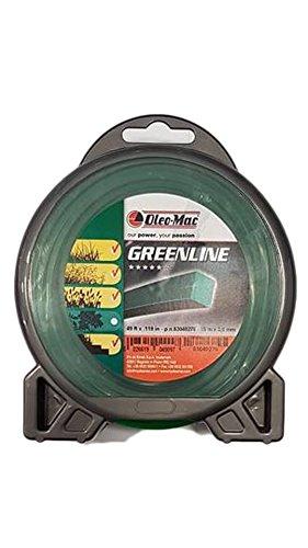 Fil débroussailleuse greenline original efco Emak – – Oleomac carré 3,0 mm, 15 m