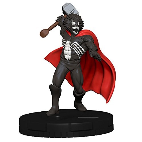 WizKids Marvel Heroclix 15th Anniversary What If? #049 Venom Thor (Chase) Figure Complete with Card