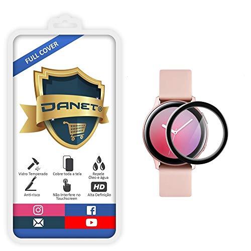 Película De Vidro Flexível 3D 9H Full Cover Para Samsung Galaxy Watch Active 2 com 44mm - Proteção Blindada Top Premium Que Cobre Toda A Tela - Danet