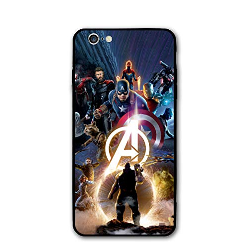 iPhone 6 Case 6S Case 4.7',Comics Case Cover for iPhone 6/6S (Avengers-2)