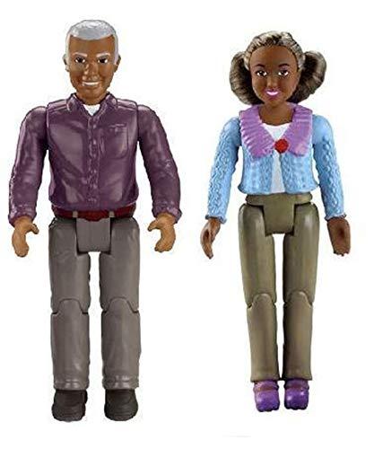 Loving Family Fisher Price African American Grandma and Grandpa(No Accessories)