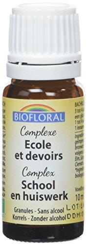 Biofloral Complexe N°34 Ecole/Devoirs Granulés Bio 10 g