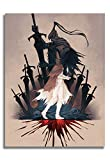 Dark Souls Canvas Prints Artorias Abyss Watchers Perfect Home Decoration 24x36 Inch