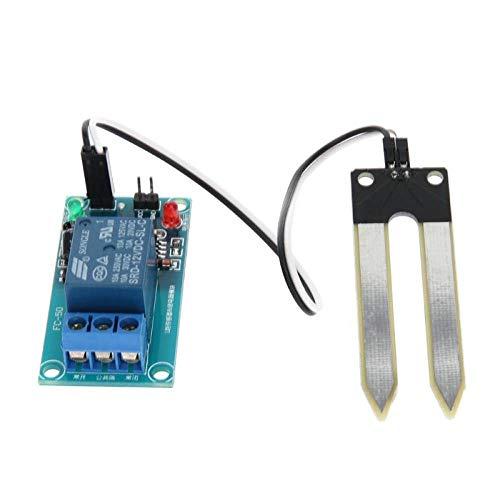 Automatic Watering Device, Soil Hygrometer-12V Humidity Detection Module Moisture Water Sensor Soil Moisture for Arduino,Blue