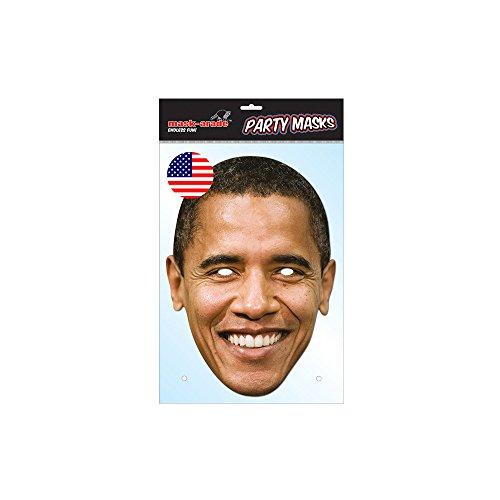 Unbekannt Générique MA1240–Maske Barack Obama–Karton–Einheitsgröße