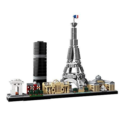 Bloques de construcción Arquitectura De Arquitectura De París, Ladrillos De Alta Tecnología, Juguetes De Construcción, Regalos, Bloques De Construcción Compatibles Con Moc, Juguetes Diy Para Niños