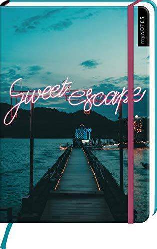 myNOTES Notizbuch A5: Sweet escape: Notebook medium, dotted - für Träume, Pläne und Ideen / ideal als Bullet Journal oder Tagebuch