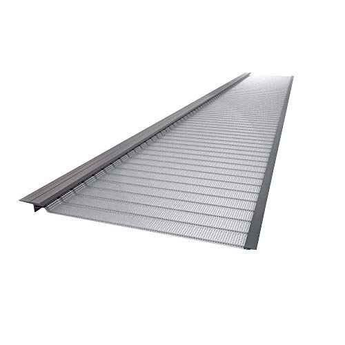 4 ft. Stainless Steel 5 in. Micro-Mesh Gutter Guard (20-Pack)