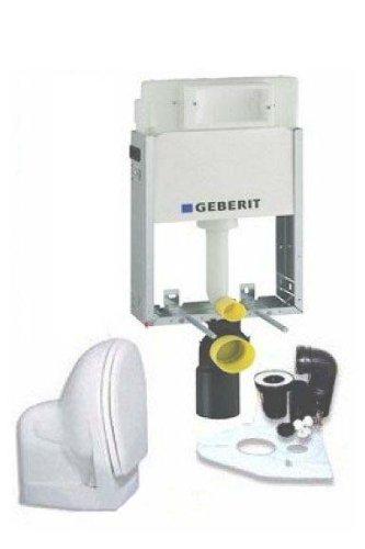 Geberit Kombifix , UP 100 mit WC, Deckel, Zubehör