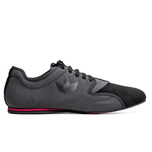 Manuel Reina - Zapatos de Baile Latino Hombre Felicien Sport Black - Bailar Bachata y Salsa - Zapatos de Salsa y Kizomba