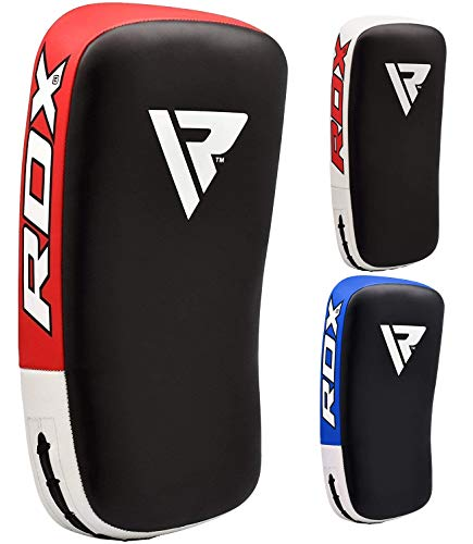 RDX MMA Schlagschild Gebogenes Training Thai Pad Kick Fokus Ziel Boxen Stanzen Fäustlinge (MEHRWEG) (Dies Wird als einzelnes Element verkauft)