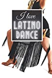 I Love Latino Dance: Music Is My Best Friend | Classic Styles Notebook Series To Compose, Song Write Or Practice | Journal For Passionates, Artists, Players, Singers, Students, Kids.