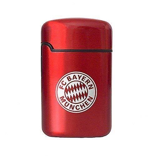 Feuerzeug Bayern München | Metall rot | Jet Flame nachfüllbar