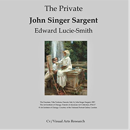 The Private John Singer Sargent audiobook cover art