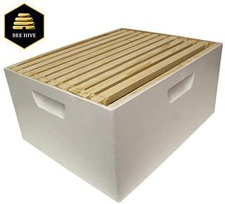 Harvest Lane Honey Deep Brood Box, White