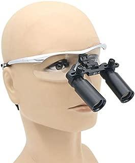 ElectroOptix Dental Surgical Medical Binocular Loupes 6 X 360-420mm Optical Glass Loupe Goggles Frame Binocular High Magnifying Glasses for Brain Cardiac Surgery Fauay