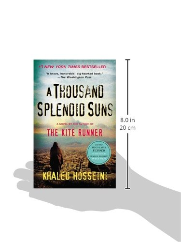 REVIEW & OPINIONS Khaled Hosseini's book A thousand splendid Suns