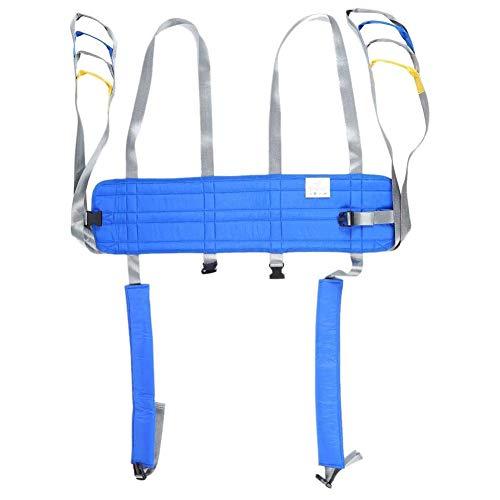 ZZYYZZ Einstellbarer Patiententransfergurt, Rehabilitationsgürtel für Hebeschlinge für Patienten mit Gehbehinderung oder Rehabilitationstraining für Frakturverletzungen