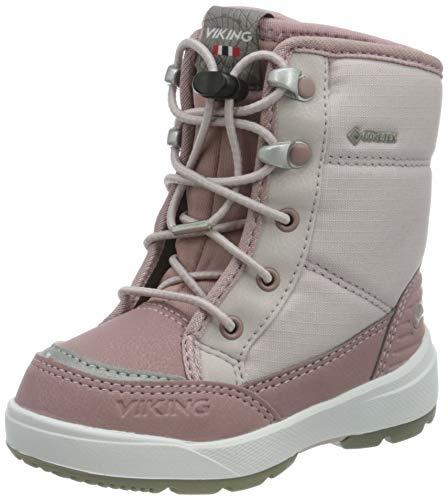 Viking Fun GTX, Botas para Nieve Unisex niños, Light Lilac/Dusty Pink, 31 EU
