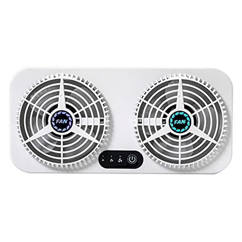 LOVOICE Ventilator, Tischventilator, Lüfter, Luftzirkulation Abgaslüfter Dual Use USB Kühler Für Auto Nach Hause