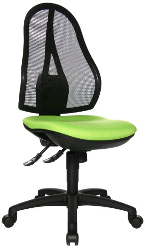 Topstar OP200G05 Open Point SY, Bürostuhl, Schreibtischstuhl, ergonomisch, Bezug apfelgrün