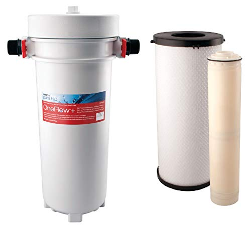 Watts OneFlow+ Salt-Free Scale Prevention and Water Filtration System Bundle With OneFlow+ Combo Filter Pack OFPCOM