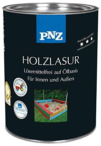 PNZ Holzlasur lösemittelfrei (lasierend), Gebinde:0.75L, Farbe:Tannengrün