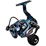 Fishonnn Fishing Reel 14 +1BB Spinning Reel, Ultra Smooth Powerful, 5.5:1/4.7:1 High Speed,Max Drag 34Lbs, Aluminum Spool for Fresh and Salt Water (Deep, 7000)