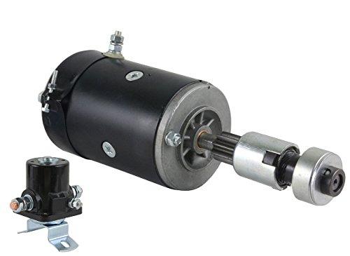Rareelectrical New 6V Starter And Drive With Solenoid Compatible With Ford 9N By Part Numbers 12323155 8N11001 SW218 SW355 8N-11001 8N-11001R 8N-11002 9N-11001 9N-11002 SA546 8N11450 12336880 U938