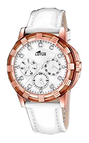 Lotus Sara 15858/3 - Reloj de Pulsera, Correa de Acero Inoxidable