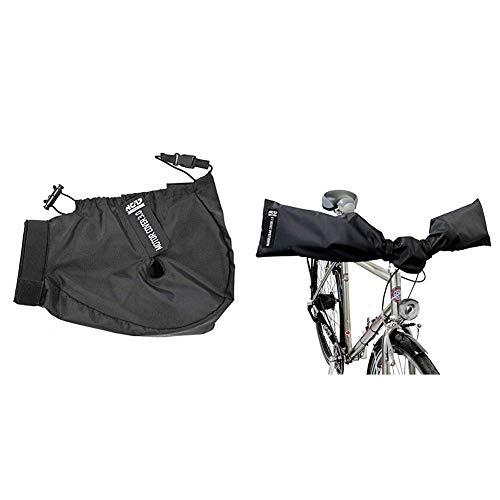 NC-17 Connect Motor Cover 3.0   Schutzhülle, Motorschutz, Abdeckung   Farbe Schwarz & Connect Schutzhüllen für E-Bike Lenker und Fahrrad Sattel/Handlebar und Seat Cover 2.0