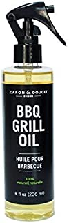 Caron & Doucet - BBQ Grill Cleaner Spray Concentrate - 100% Plant Based, Non-Toxic & Food Safe, Great for Stainless Steel & Cast Iron - BBQ Gift Idea for Dad (8oz)