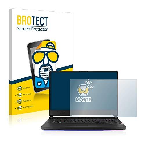BROTECT Entspiegelungs-Schutzfolie kompatibel mit Asus ROG Strix Scar 17 Bildschirmschutz-Folie Matt, Anti-Reflex, Anti-Fingerprint