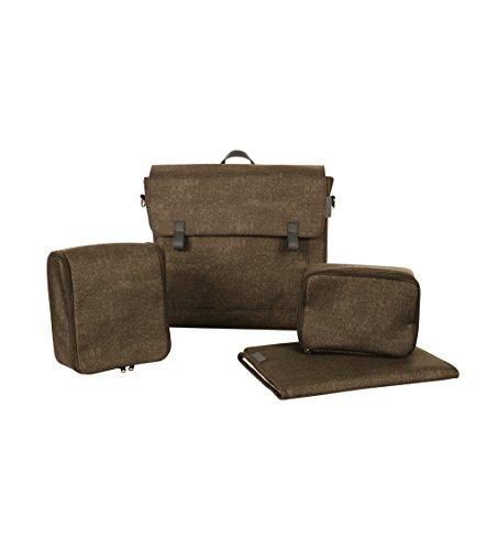 Maxi Cosi Modern Bagpraktische luiertas met veel extra's, thermobox, luiertas, thermobox, toilettas, babytas, luiertas bruin