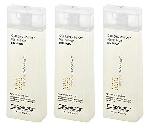Giovanni Organic Golden Wheat Shampoo, 8.5 Ounce -- 6 per case.