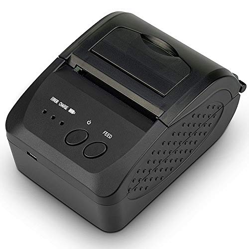 TSSM thermo-belegprinter, 58 mm, draadloze Bluetooth 4.0 met high speed  printing DIP-functie met USB-seriële ethernet-poort voor restaurant winkel thuis bedrijf