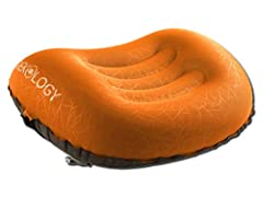SMALL in SIZE - BIG on COMFORT! This is the most compact & lightweight inflatable camp pillow on the market – folds down to 5x2 inches, smaller than a soda can! Inflates to a comfortable pillow for head or lumbar support. Deflating back down in only ...